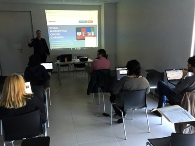 Taller de Email Marketing en Les Borges Blanques con Angel Fulquet